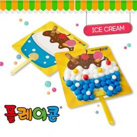 플레이콘아이스크림부채(5인용)